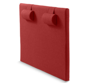Tyg gavel i Milano röd