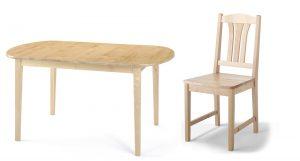 Kalmar matbord och stol